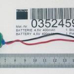 Bateria 4,5 V 1070-913572 PX 19